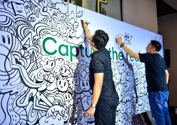 Experience zone at the OPPO Product Launch