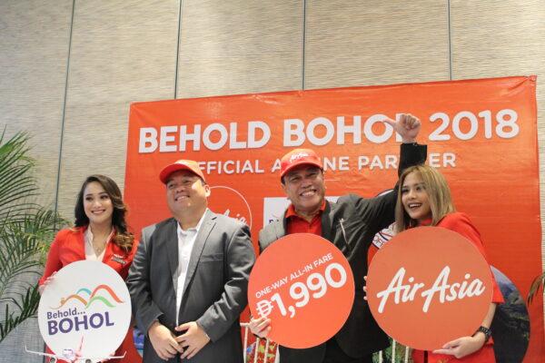 Behold Bohol 2018 -Promoting the AirAsia latest promo.