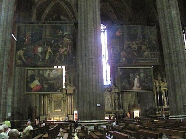 Inside Castello Sforzesco