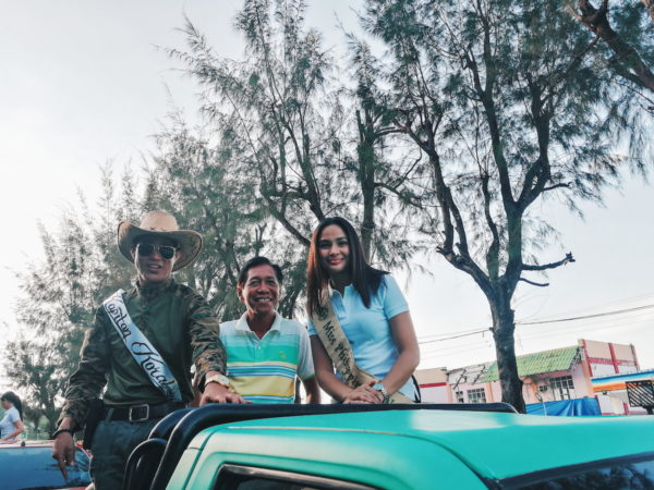 Miss Philippines – Water 2017, Ms. Jessica Marasigan during the parade