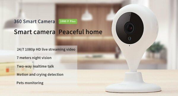 Qihoo 360 D606 Wifi Smart Camera Product Review
