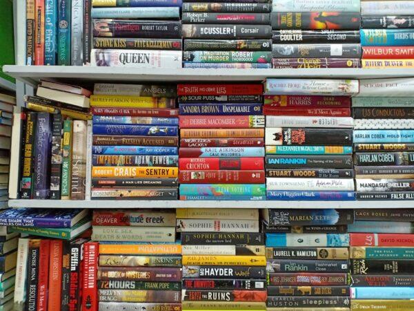 Sample Vivid Oppo shot inside Book Sale