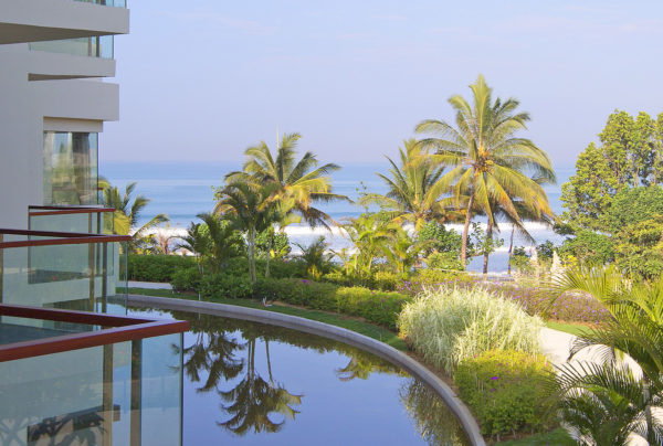 Social Courtyard of Sheraton Kuta Resort in Bali