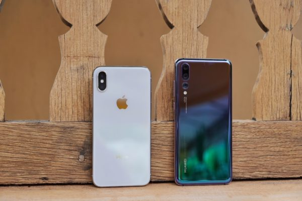 Apple iPhone X vs. Huawei P20 Pro