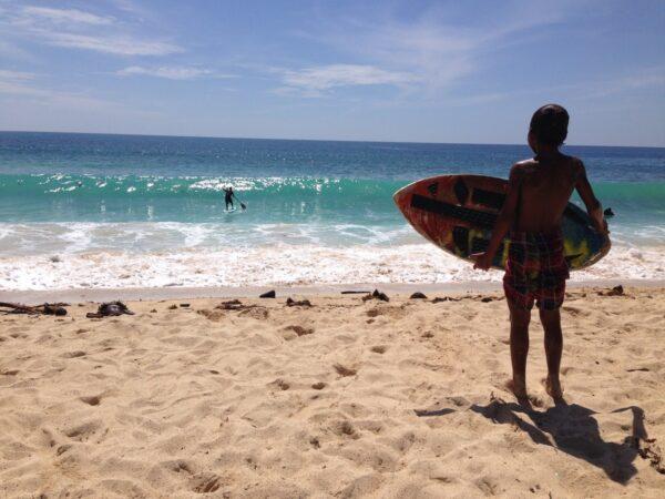 Dahican Beach in Mati, Davao Oriental.