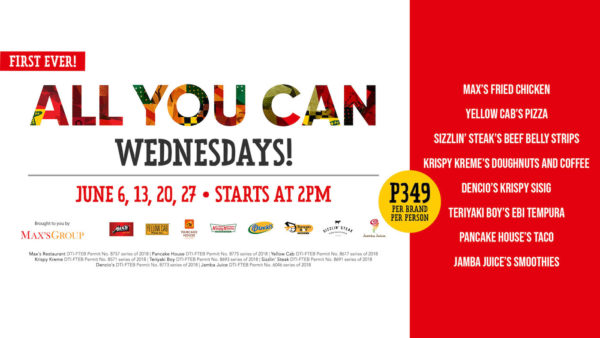 Eat-All-You-Can Wednesdays