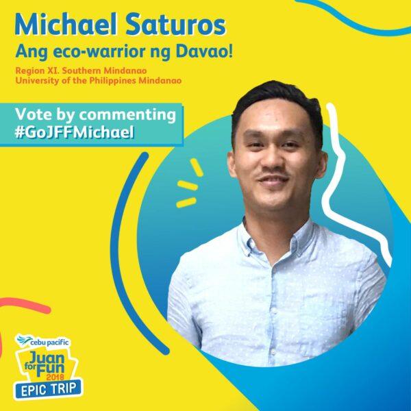 Michael Saturnos - Juan for Fun 2018