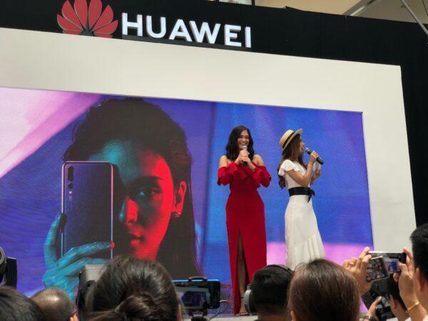 Pia Wurtzbach during the Huawei P20 Manila Launch
