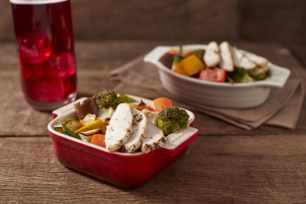 Roasted Vegetables with Chicken
