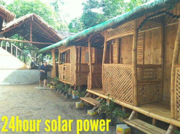 Stellbucks Huts in Port Barton Palawan
