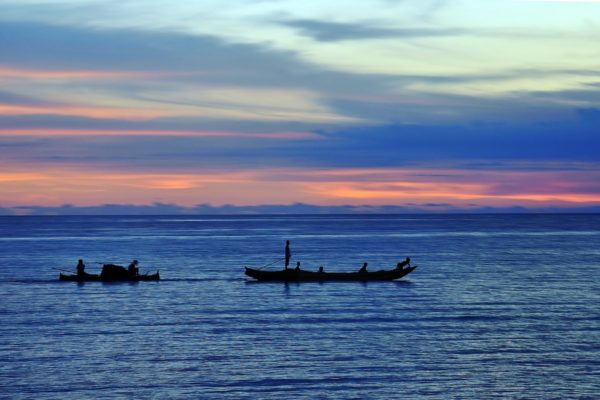 Sunset in Sarangani Bay