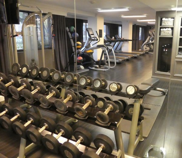 the exercise gym