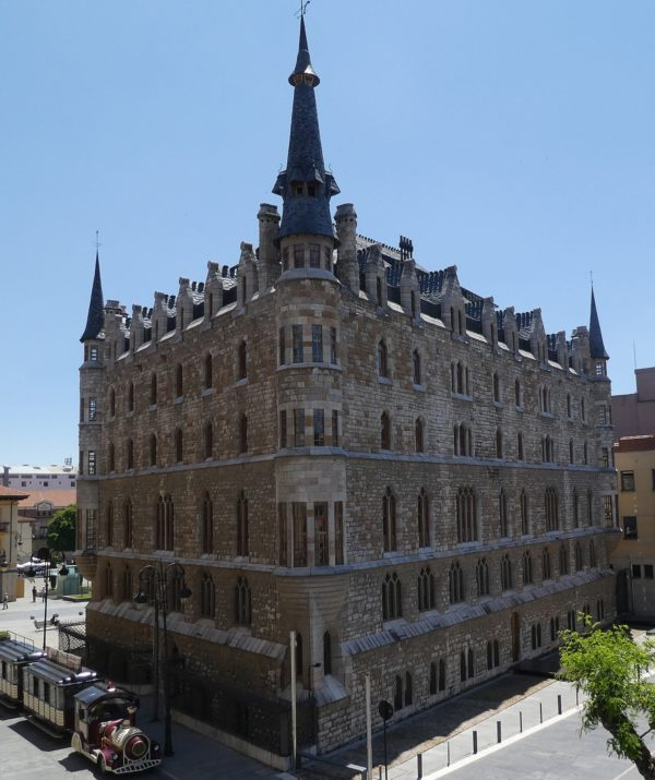 Architect Antonio Gaudi designed this beauty in Leon
