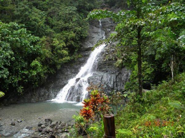Busay Falls in Babatgon Leyte photo via FB Page Tacloban City Travel Guide