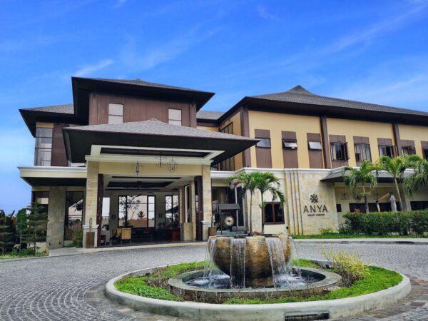 Early morning arrival at Anya Resort and Residences Tagaytay