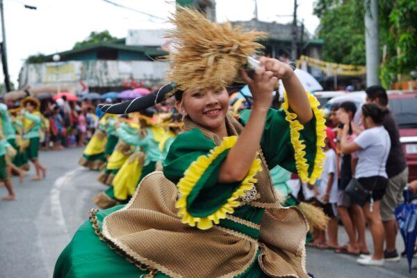 Festival Dancer in Pulilan Bulacan