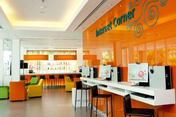 Ibis Pattaya Free Internet Corner