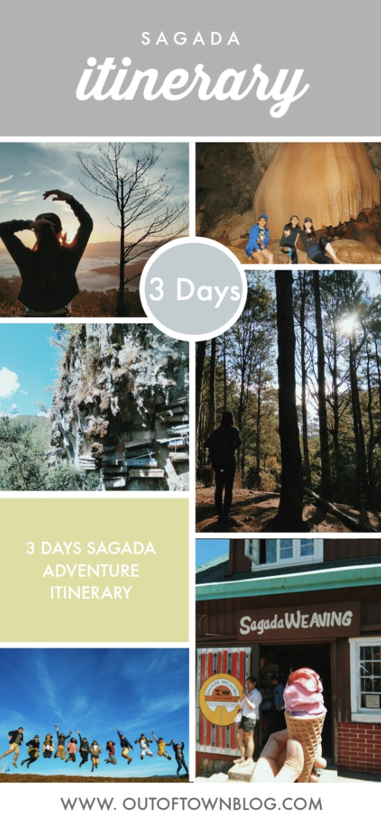 3 Days Sagada Adventure Itinerary