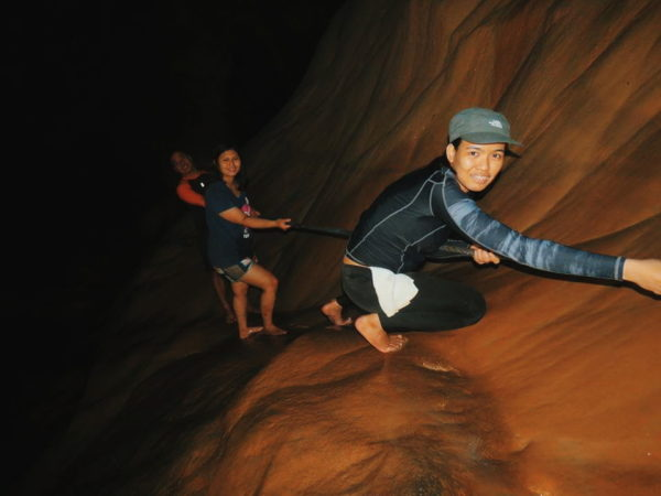 Sagada spelunking activity, Photo by Berlyn Palma