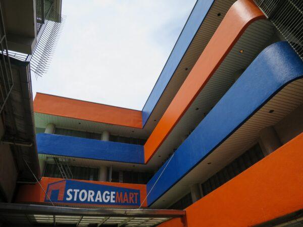 Storage Mart Building Facade