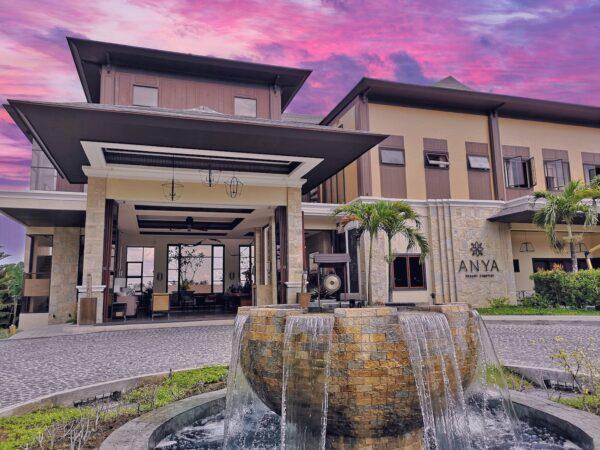 Sunset at Anya Resort in Tagaytay City