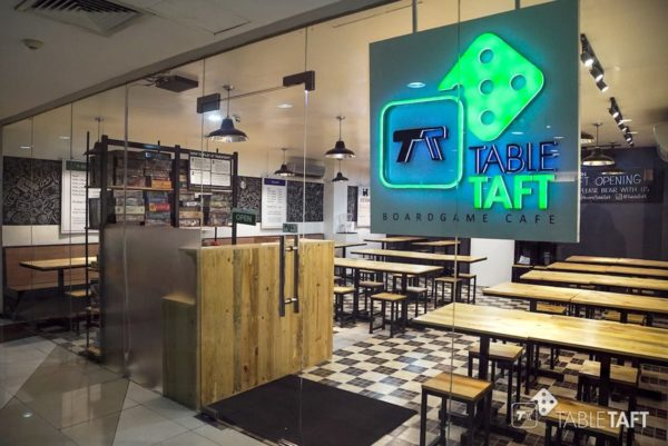 TableTaft Board Game Cafe photo via FB Page