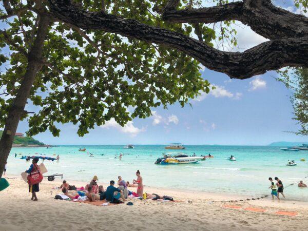 Tien Beach Koh Larn Thailand