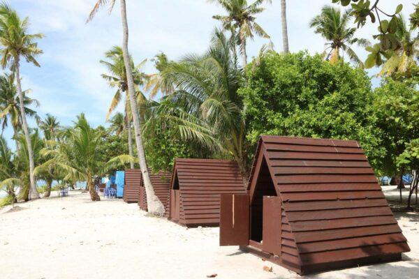 Tipi Huts at JeTer Resort, Kalanggaman Westside