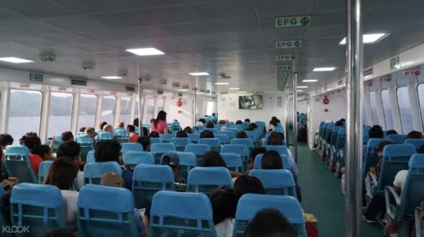 Travel between Bohol and Siquijor via Oceanjet photo via KLOOK