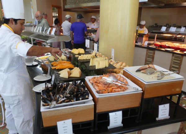 Another look at the huge lunch buffet!