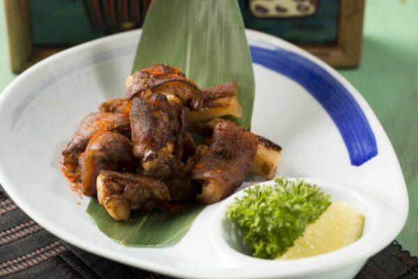 BBQ Sichuan Spicy Pork Trotter