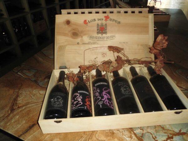 Barbare bottles present case