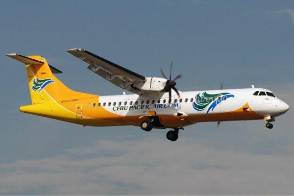 CEB Cargo ATR72-500 photo via Wikipedia Commons