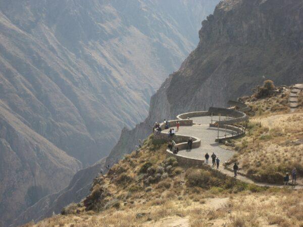 Colca Canyon in Peru