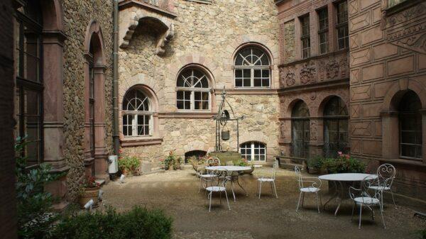 Inside Ksiaz Castle