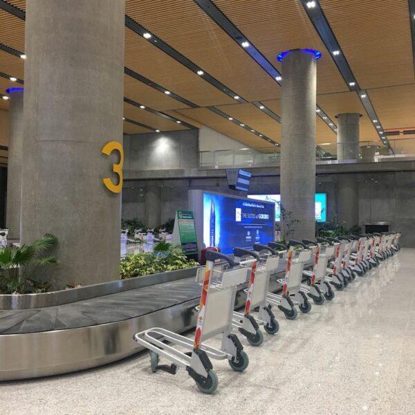 MCIA Terminal 2 Arrival Area