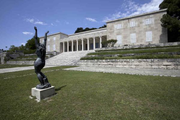 Mestrovic Gallery in Split photo via mestrovic.hr