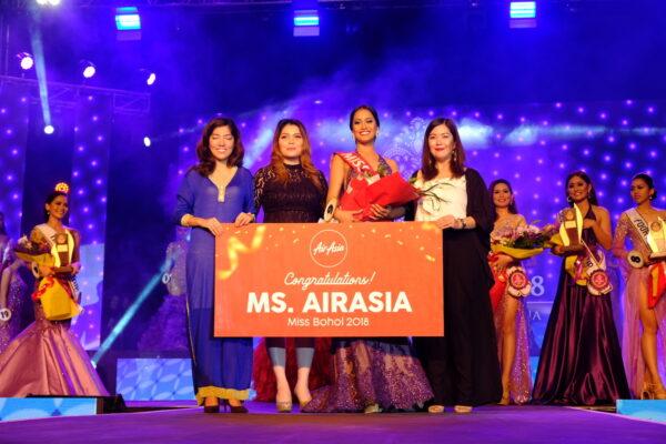Miss Tagbilaran Raclaire Stephan Trigo is this years Miss Bohol Winner
