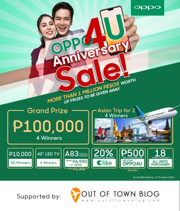 Out Of Town Blog OPPO4U Giveaway