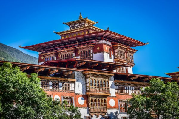 Palace in Bhutan