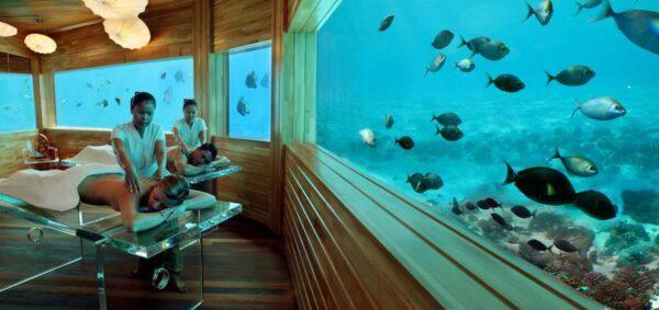 Per Aquum Huvafen Fushi Underwater Hotels