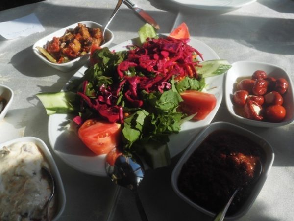 Turkish Breakfast at Tasodalar Hotel
