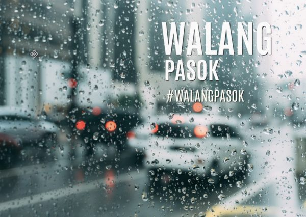 #WalangPasok Announcements Class suspensions for August 10, 2019