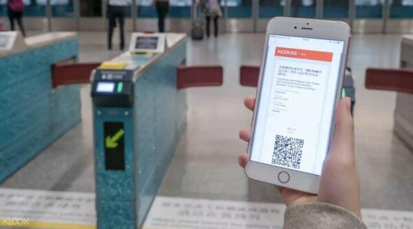 Hong Kong Airport Express Train Tickets photo via KLOOK