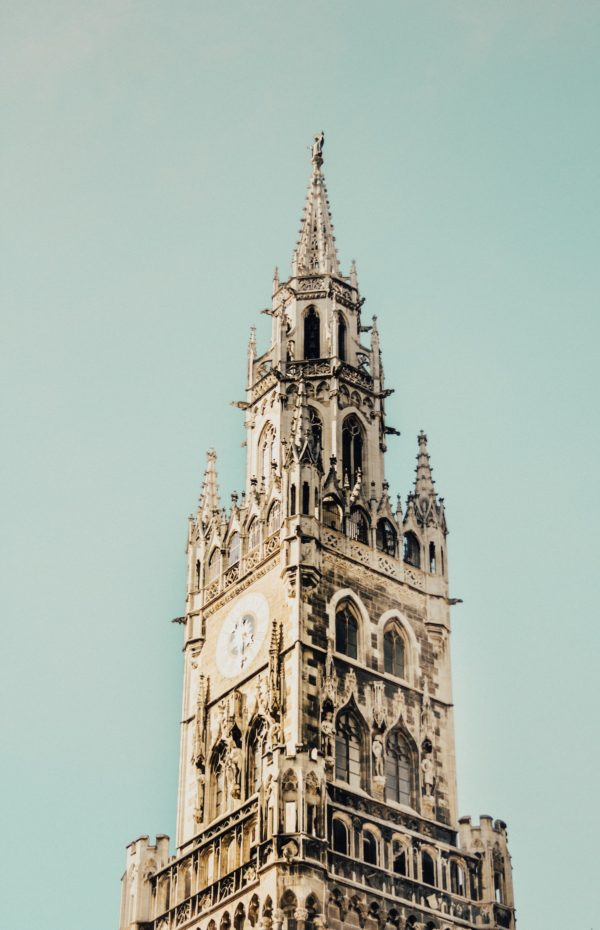Marienplatz is a central square in the city centre of Munich, Germany by Tavis Beck via Unsplash