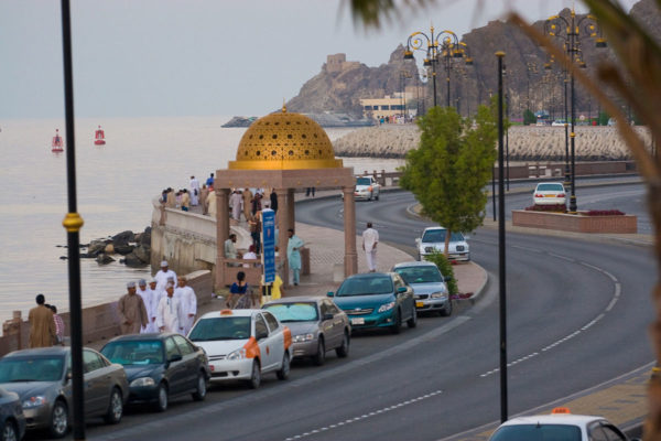 Muttrah, Muscat, Oman by Andries Oudshoorn via Wikipedia CC