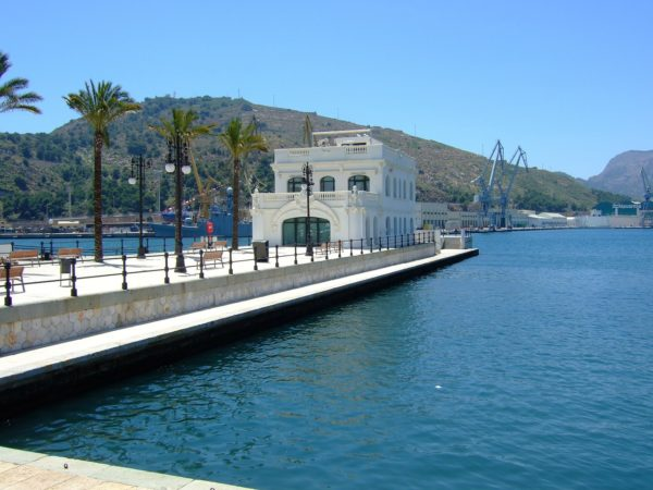 Port in Cartagena