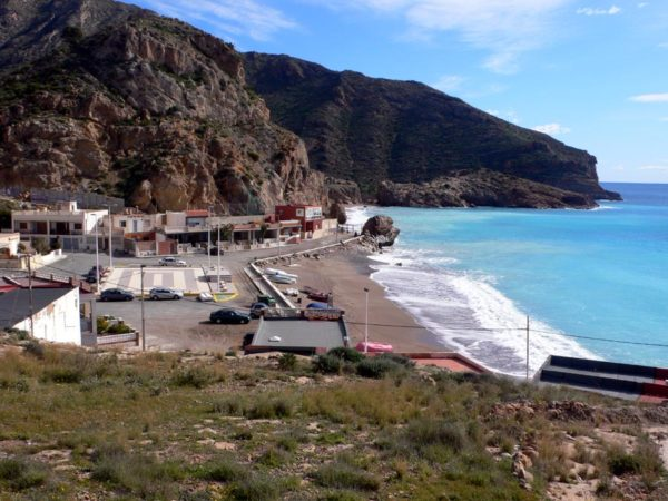 Public beach at El Portus by Nanosanchez via Wikipedia CC