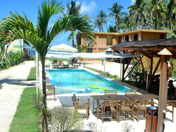 Reef Beach Resort in Siargao