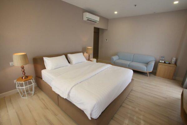 Rooms at D Anggerek Service Apartment
